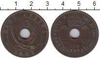 Изображение Монеты Великобритания Восточная Африка 10 центов 1935 Бронза XF