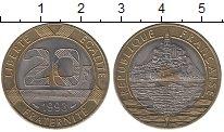 Изображение Монеты Франция 20 франков 1993 Биметалл UNC