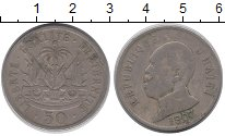 Изображение Монеты Гаити 50 сентим 1907 Медно-никель VF
