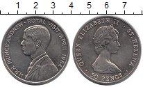Изображение Монеты Остров Святой Елены 50 пенсов 1984 Медно-никель UNC Принц Эндрю