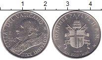 Изображение Монеты Ватикан 100 лир 2001 Медно-никель UNC