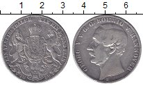 Изображение Монеты Ганновер 1 талер 1859 Серебро XF-