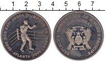 Изображение Монеты Сан-Томе и Принсипи 1.000 добрас 1996 Медно-никель UNC Олимпиада 96.  Бокс