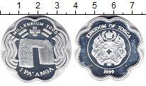Изображение Монеты Тонга 1 паанга 1999 Серебро Proof