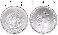 Изображение Монеты Острова Кука 25 центов 2015 Серебро UNC