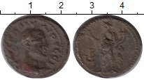 Изображение Монеты Александрия 1 тетрадрахма 0 Бронза XF Клавдий Готский