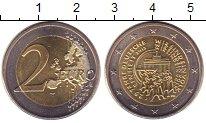 Изображение Монеты Германия 2 евро 2015 Биметалл UNC
