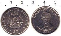 Изображение Монеты Гаити 20 центов 1995 Медно-никель UNC Герб