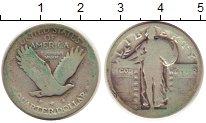 Изображение Монеты США 1/4 доллара 0 Серебро F