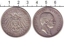 Изображение Монеты Саксония 3 марки 1910 Серебро XF Фридрих  Август