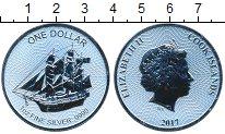 Изображение Мелочь Острова Кука 1 доллар 2017 Серебро UNC