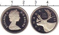 Изображение Монеты Канада 25 центов 1986 Медно-никель Proof