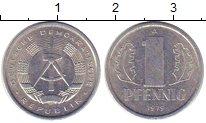 Изображение Монеты ГДР 1 пфенниг 1979 Алюминий XF+