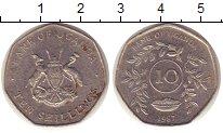 Изображение Монеты Уганда 10 шиллингов 1987 Медно-никель XF