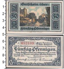 Изображение Банкноты Германия : Нотгельды 50 пфеннигов 1921  XF Ганновер 1 июля 1921
