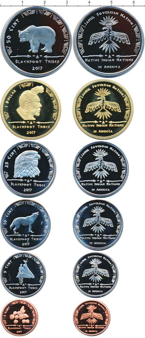 Картинка Наборы монет Резервация Хамул Индейцы Хамул Индейцы 2017  2017