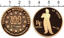 Изображение Монеты Франция 100 франков 1996 Золото Proof