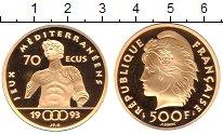 Изображение Монеты Франция 500 франков 1993 Золото Proof