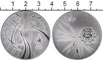 Изображение Монеты Эстония 12 евро 2012 Серебро Proof Олимпиада 2012 в Лон