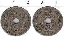 Изображение Монеты Бельгия 10 сантим 1904 Медно-никель XF-