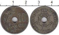 Изображение Монеты Бельгия 10 сантимов 1905 Медно-никель XF-