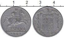 Изображение Монеты Испания 10 сентимо 1953 Алюминий VF