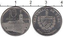 Изображение Монеты Куба 10 сентаво 1996 Медно-никель XF