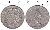 Изображение Монеты Австрия 1 шиллинг 1947 Алюминий XF