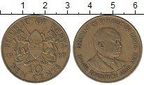 Изображение Монеты Кения 10 центов 1987 Латунь XF