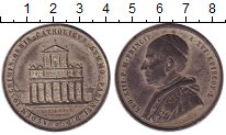 Изображение Монеты Италия Медаль 0 Олово XF-