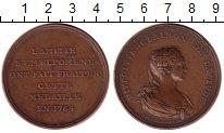 Изображение Монеты Франция медаль 1764 Медь XF- Ипполита Клерон (акт