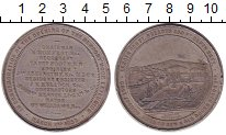 Изображение Монеты Великобритания Медаль 1858 Олово XF- Открытие порта в Нью