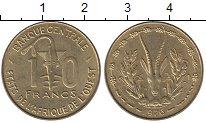 Изображение Монеты Западно-Африканский Союз 10 франков 1976 Латунь UNC-
