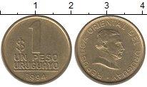 Изображение Монеты Уругвай 1 песо 1994 Латунь XF