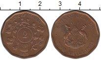 Изображение Монеты Уганда 2 шиллинга 1987 Бронза XF