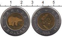 Изображение Монеты Канада 2 доллара 1996 Биметалл UNC