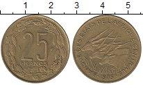 Изображение Монеты Центральная Африка Центральная Африка 1975 Латунь XF