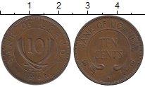 Изображение Монеты Уганда 10 центов 1966 Бронза XF