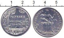 Изображение Монеты Полинезия 2 франка 2012 Алюминий UNC-