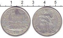 Изображение Монеты Полинезия 2 франка 2006 Алюминий XF