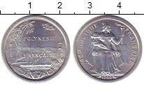 Изображение Монеты Полинезия 1 франк 1965 Алюминий UNC-