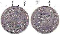 Изображение Монеты Полинезия 1 франк 2003 Алюминий UNC-