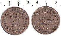 Изображение Монеты Камерун 50 франков 1960 Медно-никель XF