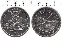 Изображение Монеты Эритрея 1 доллар 1995 Медно-никель UNC