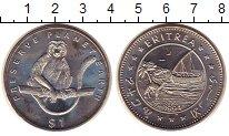 Изображение Монеты Эритрея 1 доллар 1994 Медно-никель UNC