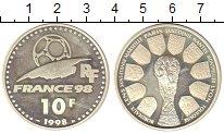 Изображение Монеты Франция 10 франков 1998 Серебро UNC
