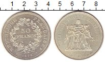 Изображение Монеты Франция 50 франков 1979 Серебро UNC