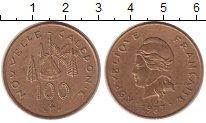 Изображение Монеты Новая Каледония 100 франков 1987 Латунь XF