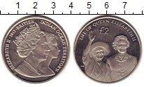 Изображение Монеты Британско - Индийские океанские территории 2 фунта 2012 Медно-никель UNC- Елизавета II