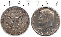 Изображение Монеты США 1/2 доллара 1969 Серебро XF